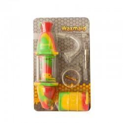 "Waxmaid 8"" Silicone Glass..."